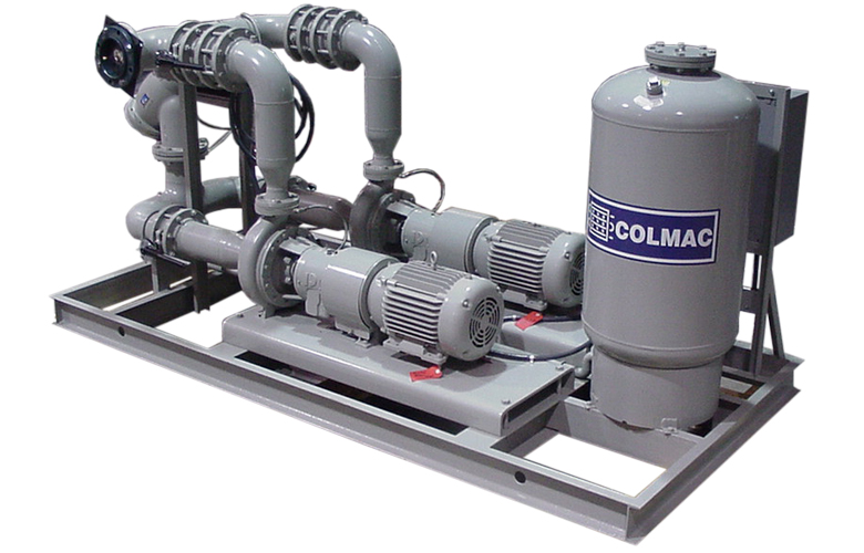 Liquid Dry Coolers : Modulair pump skids for power generation glycol cooling
