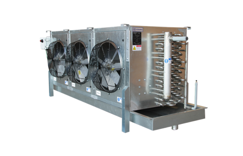 Industrial Fuel Coolers : Industrial air coolers a m refrigeration evaporators