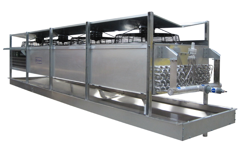 Industrial Fuel Coolers : Industrial air coolers a r food processing room